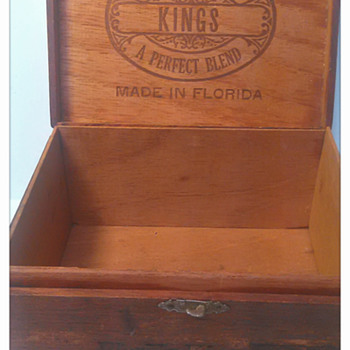 Florida Kings Boite Nature Cigar Box