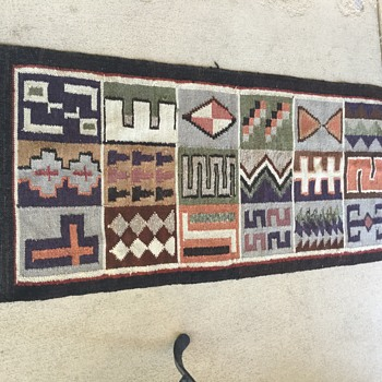 Antique Mexican Rug