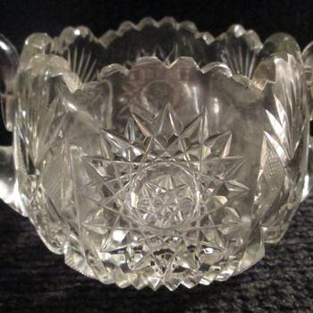 Sugar bowl, ABCG? - Glassware