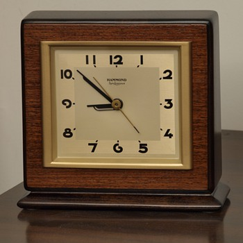 "Hammond Wood Clock: The ""Cavalier"""