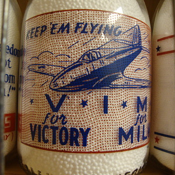 Four Sanitary Dairy (Warren Ohio) Airplane Slogans.............
