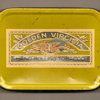 "1960's - ""Golden Virginia"" Tobacco Tin - Tobacciana"
