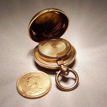 Silver Case for Gold Sovereign - Sterling Silver