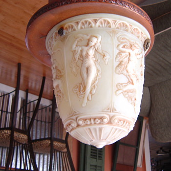 3 graces hanging lamp shade - Lamps