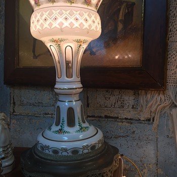Curious about this beautiful lamp - Lamps