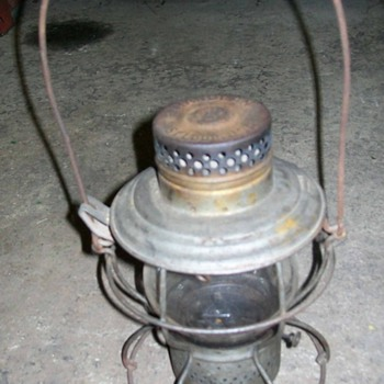 Pennsey Railroad lantern - Railroadiana