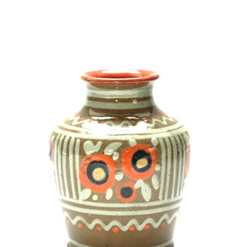 small art deco vase by LEON ELCHINGER