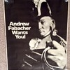 """JAX BEER """"Andrew Fabacher Wants you"""" Advertising Poster 1960's"""