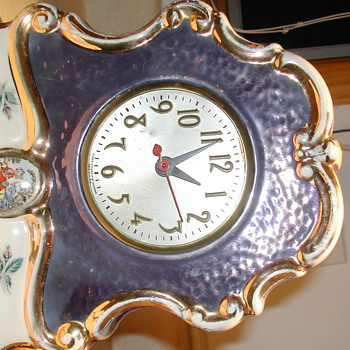 Lamp clock set - Lamps