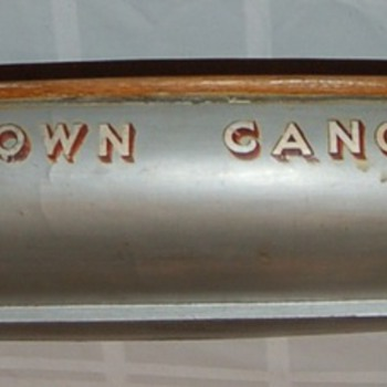 &#039;One-of-a-kind&#039; salesman sample canoe model, Old Town Canoe Co. 1940&#039;s - Advertising