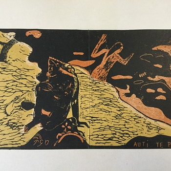 Paul Gauguin print - Visual Art