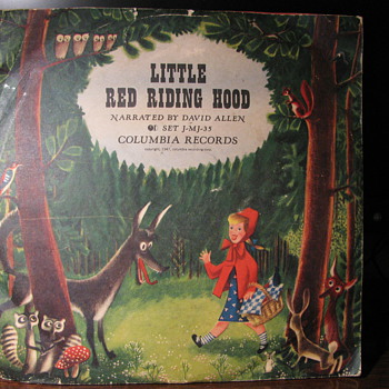 1947  Two Record set of Little Red Riding Hood - Records