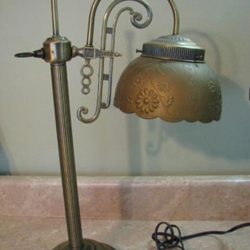 Bridge Lamp, age unknown