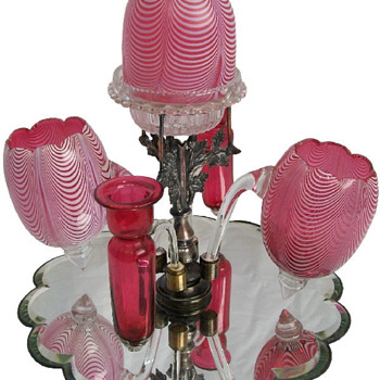 Fairy Lamp Epergnes