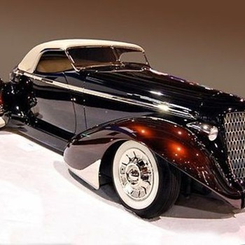 1936 Auburn Roadster,  1947  Bentley MK.VI. - Classic Cars