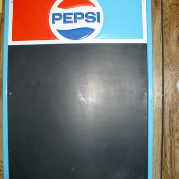 pepsi chalkboard sign - Signs