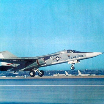 "U.S. Air Force Photo Poster - ""F-111A First Flight"" - Posters and Prints"