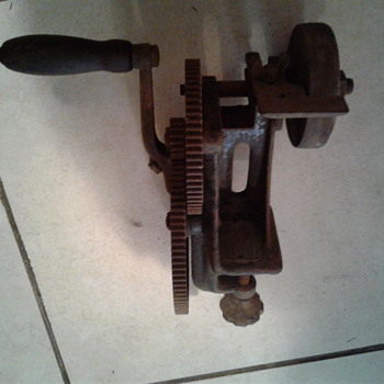 Goodell-Pratt sharpener/grinder