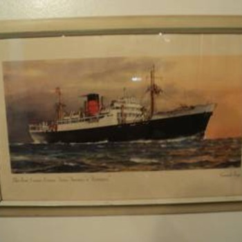 """The Fast Cargo Liners, """"Asia"""", """"Arabia"""", & """"Assyria"""" - Posters and Prints"""