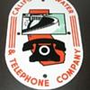 California Water & Telephone Porcelain Sign