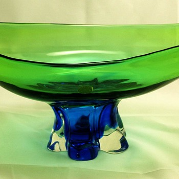 Console Bowl by Archimede Seguso and Original label