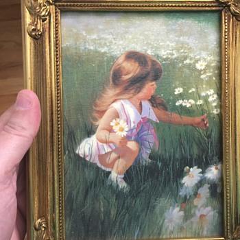 Cute Donald Zolan Painting transfer - Visual Art