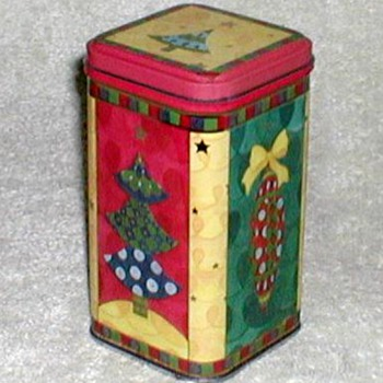 Christmas Biscuit Tin - small