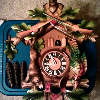 Early 1950's Cuckoo Clock from Germany