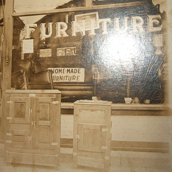 Early 20th century furniture store