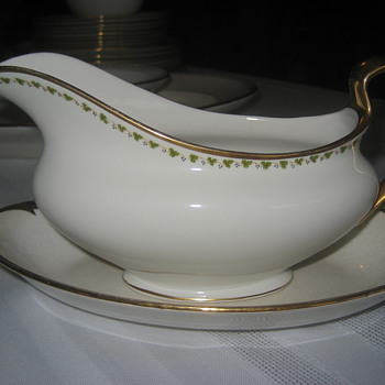 Johnson Brothers dinner service