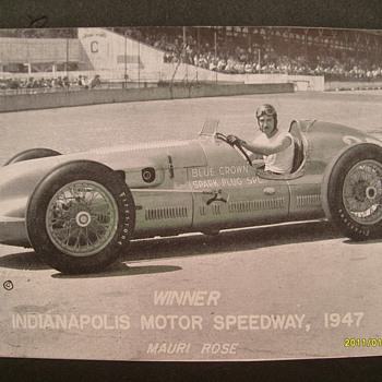 1947 Indy 500 Winner - Photographs