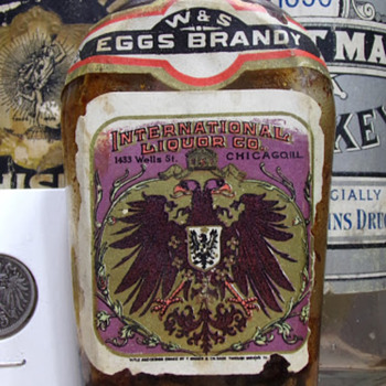 Pre-Prohibition Brandy, Labeled