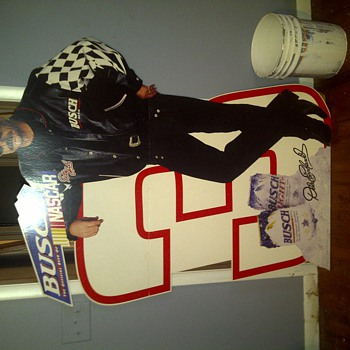 dale earnhardt life sized stand up - Signs