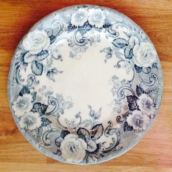 John Lennon's Davenport china plate-1964