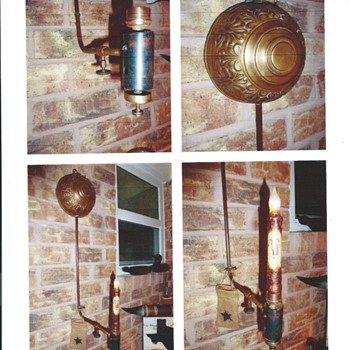 Oil Torch Lamp