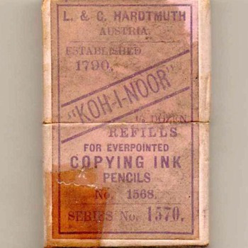 "Hardtmuth ""KOH-I-NOOR"" Lead Refills - Office"