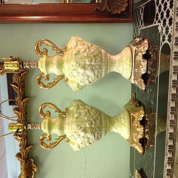 Pair of Lamps  - Lamps