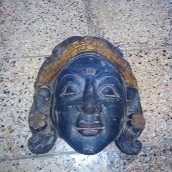 my favorite balinese mask - Visual Art