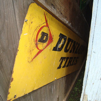 dunlop tire sign - Signs