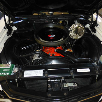 !972 CHEVELLE &quot;SS&quot; Interior &amp; engine for Trey!