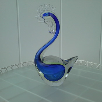 Murano Swans - Art Glass