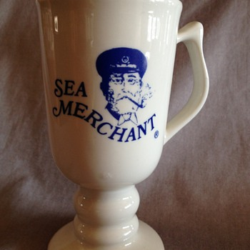Sea Merchant Pedestal Coffee Mug - Advertising