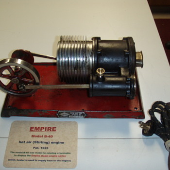 Empire B-40 hot air engine - Tools and Hardware