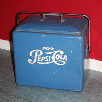 pepsi cola ice chest cooler