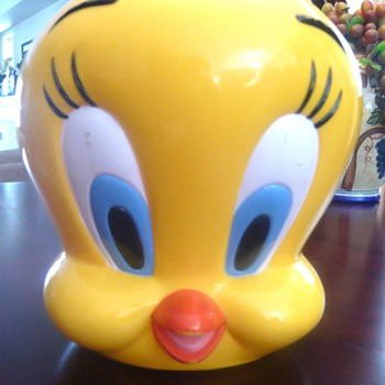 Talking Tweety Bird Cookie Jar