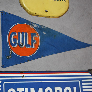 gulf cloth pennant flag - Advertising