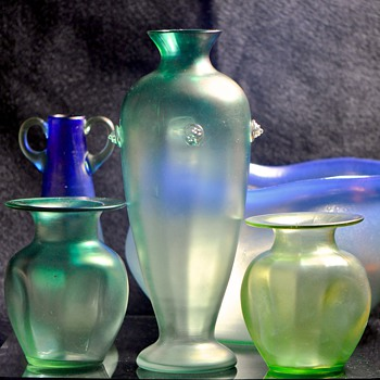Shades of Green - Art Glass