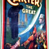 "Original 1926 Carter The Great ""cheats the gallows"" Stone Lithograph Poster"
