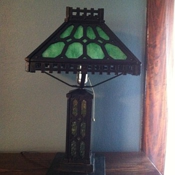 Cast Iron Lamp - Lamps
