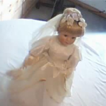 Noble Heritage Collection All Wedding Accessories On Doll. - Dolls
